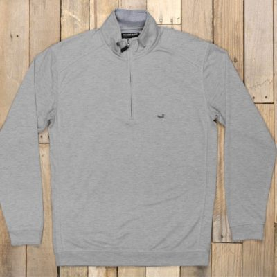 Southern Marsh Downpour Dry Performance Pullover, Washed Grey