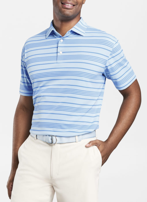 Peter Millar Budleigh Stripe Polo, Oasis