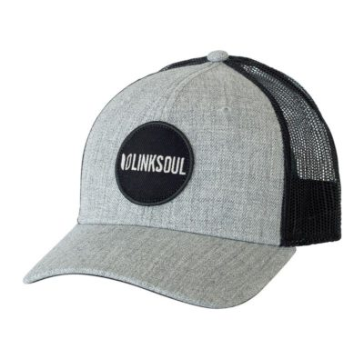 LinkSoul Patch Hat, Grey